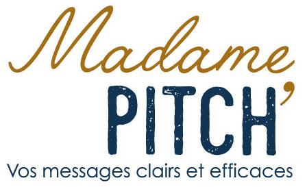 Logo Madame Pitch Baseline