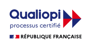 Logo Qualiopi couleurs avec Marianne